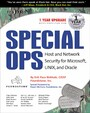 Special Ops - Host and Network Security for Microsoft Unix and Oracle