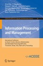 Information Processing and Management - International Conference on Recent Trends in Business Administration and Information Processing, BAIP 2010, Trivandrum, Kerala, India, March 26-27, 2010. Proceedings (Communications in Computer and Information