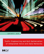 Traffic Engineering and QoS Optimization of Integrated Voice & Data Networks