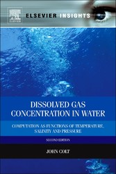 Dissolved Gas Concentration in Water - Computation as Functions of Temperature, Salinity and Pressure