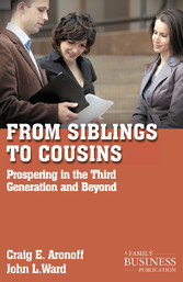 From Siblings to Cousins - Prospering in the Th...