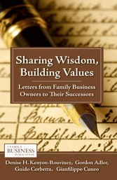 Sharing Wisdom, Building Values - Letters from ...