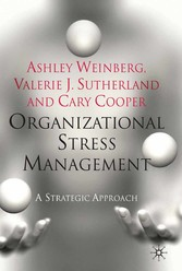 Organizational Stress Management - A Strategic ...