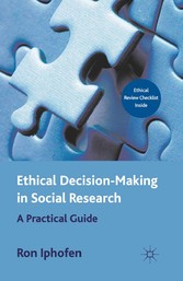 Ethical Decision Making in Social Research - A ...