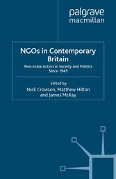 NGOs in Contemporary Britain - Non-state Actors...