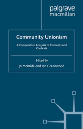 Community Unionism - A Comparative Analysis of ...
