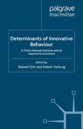 Determinants of Innovative Behaviour - A Firms ...