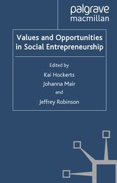 Values and Opportunities in Social Entrepreneur...
