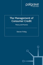 The Management of Consumer Credit - Theory and ...