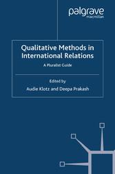 Qualitative Methods in International Relations ...