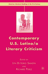 Contemporary U.S. Latino/a Literary Criticism
