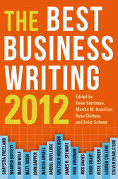 The Best Business Writing 2012 - Best Business ...