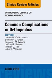 Common Complications in Orthopedics, An Issue o...