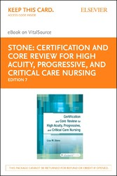 Certification and Core Review for High Acuity a...