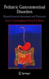 Pediatric Gastrointestinal Disorders Biopsychosocial Assessment and Treatment