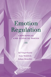 Emotion Regulation - Conceptual and Clinical Issues