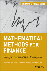 Mathematical Methods for Finance - Tools for As...