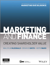 Marketing and Finance - Creating Shareholder Value