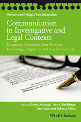 Communication in Investigative and Legal Contex...