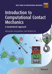 Introduction to Computational Contact Mechanics...