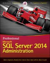 Professional Microsoft SQL Server 2014 Administ...