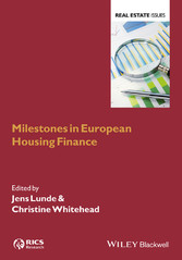 Milestones in European Housing Finance