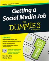 Getting a Social Media Job For Dummies