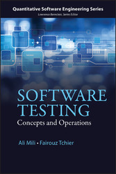 Software Testing - Concepts and Operations