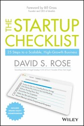 The Startup Checklist - 25 Steps to a Scalable,...