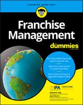 Franchise Management For Dummies