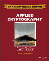 Applied Cryptography - Protocols, Algorithms an...