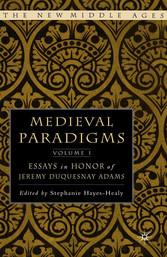Medieval Paradigms: Volume I - Essays in Honor ...