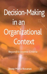Decision-Making in an Organizational Context - ...