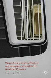Researching Contexts, Practices and Pedagogies ...