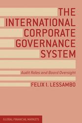 The International Corporate Governance System -...