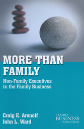 More than Family - Non-Family Executives in the...