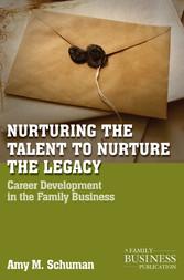 Nurturing the Talent to Nurture the Legacy - Ca...