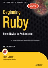 Beginning Ruby - From Novice to Professional