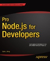 Pro Node.js for Developers