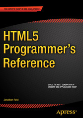 HTML5 Programmers Reference