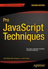 Pro JavaScript Techniques - Second Edition