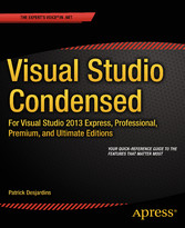 Visual Studio Condensed - For Visual Studio 201...