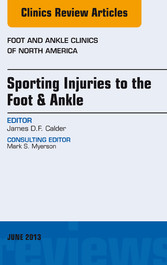 Sporting Injuries to the Foot & Ankle, An Issue...