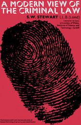 A Modern View of The Criminal Law - Pergamon Mo...