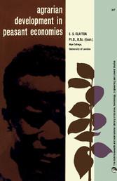 Agrarian Development in Peasant Economies - Som...