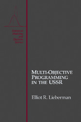 Multi-Objective Programming in the USSR
