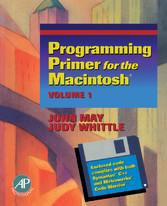 Programming Primer for the Macintosh® - Volume 1
