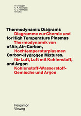 Thermodynamic Diagrams for High Temperature Plasmas of Air, Air-Carbon, Carbon-Hydrogen Mixtures, and Argon