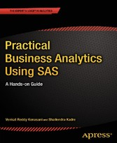 Practical Business Analytics Using SAS - A Hand...