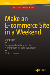 Make an E-commerce Site in a Weekend - Using PHP